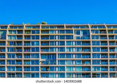 ROTTERDAM, NETHERLANDS, AUGUST 6, 2018: Markthall building in Rotterdam, Netherlands