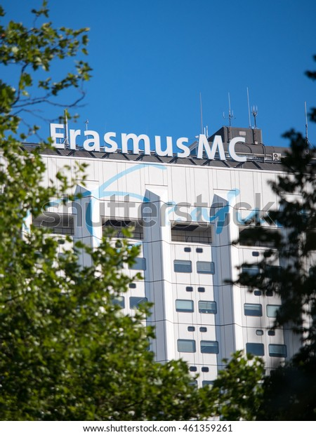 Rotterdam, the Netherlands, july 27 2016: The Erasmus Medical Center is one of the 5 dutch academic centers. It is well known for it's medical care and scientific research programs.