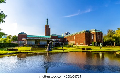 ROTTERDAM, NETHERLANDS - JUNE 8, 2014: View of the Museum Boijmans Van Beuningen. In 2013, the museum had 292,711 visitors and was the 14th most visited museum in the Netherlands.