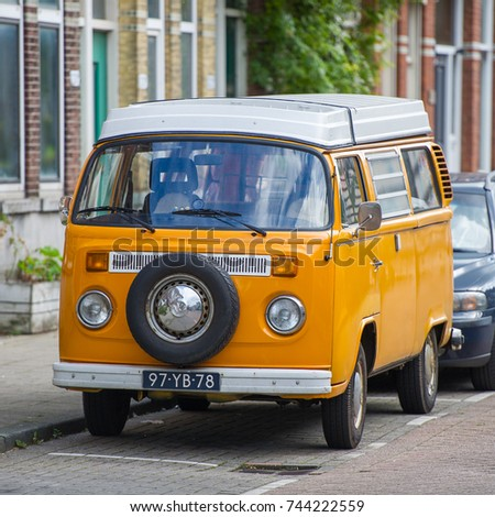 0225f21e6a ROTTERDAM NETHERLANDS SEP 6 2017 VW Stock Photo (Edit Now) 744222559 ...