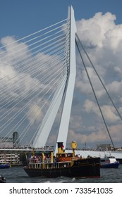 ROTTERDAM - SEPTEMBER 2, 2017: World Port Days festival - 40th anniversary - On the water and along the quays