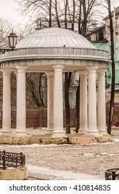 Rotunda in the city park