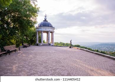 Rotunda in the park of Pyatigorsk, Russia