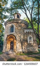 Rotunda of St. Martin in Vysehrad, Prague, Czech republic