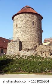 The Rotunda of St.Catherine in czech rotunda svate kateriny,  Znojmo town, South Moravia, Czech republic
