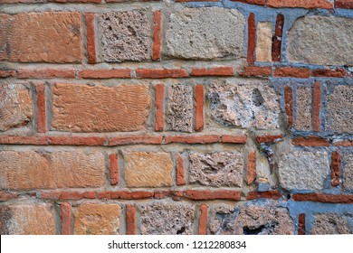 rough abstract texture of a stone wall for a background closeup