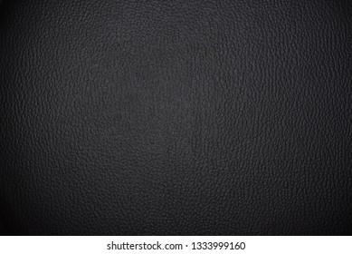 Rough black animal texture background. Premium leather surface