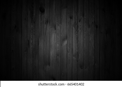 Rough black wood background