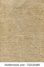 Rough brown sackcloth texture