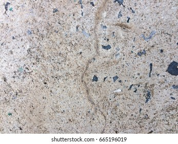 Rough cement crack floor texture background