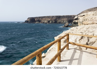 Rough coastline north of Ajuy, Fuerteventura