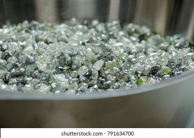 A lot of rough diamonds