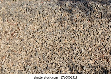Rough gravel and rocks background