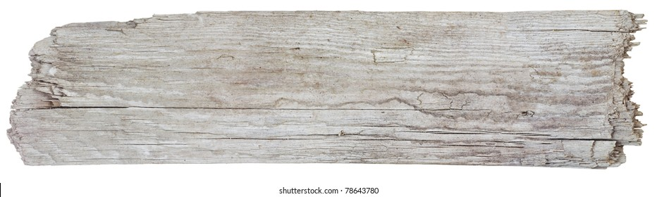 Rough hewn wood sign