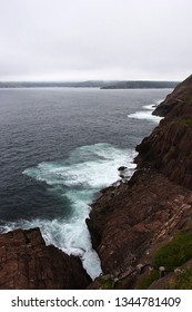Rough northern coast, Newfoundland, Canada