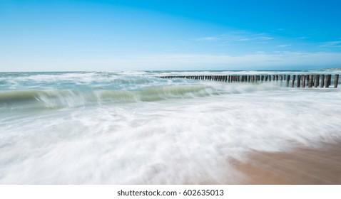 rough ocean view