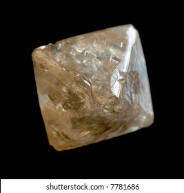 Rough octahedral diamond crystal from Kimberley, South Africa