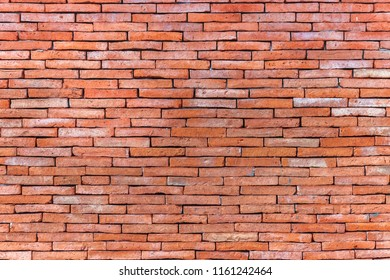 rough red brick wall texture background
