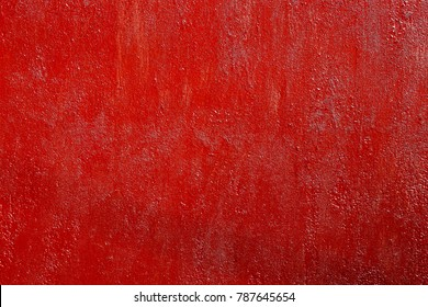 Rough red painted rusty metal surface, high resolution texture