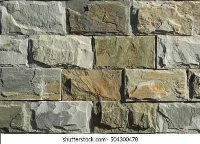 Rough stone of different shades