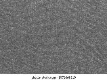 Rough textile texture. Melange colour cloth. Grey cloth.