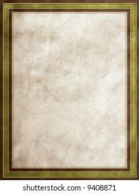 Rough texture green & gray frame
