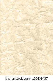 Rough texture of yellow paper