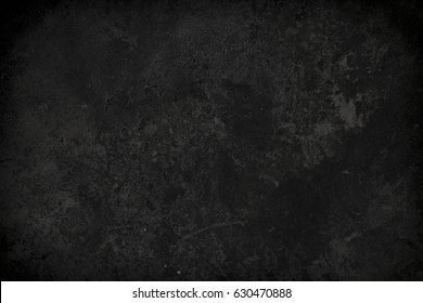 Rough textured black concrete photo background