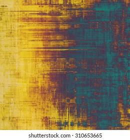 Rough vintage texture. With different color patterns: yellow (beige); brown; purple (violet); blue