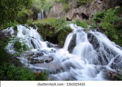 Roughlock Falls in South Dakota