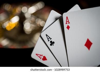 roulette casino background