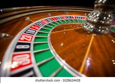 Roulette Casino Gambling Fortune Close up