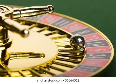 Roulette close up