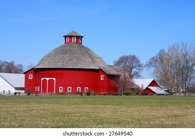 Round Barn at Amish Acres in Nappanee Indiana