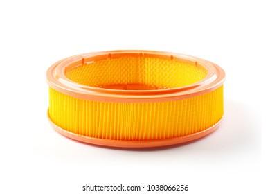 round car air filter