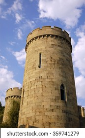 Round castle tower