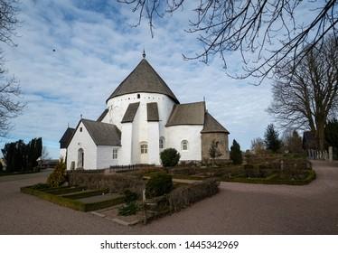 Round Church at Bornholm in Denmark
