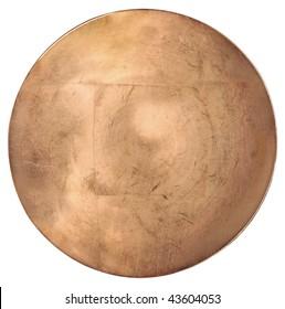 Round copper slide