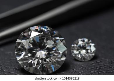 Round Cut Diamond. Moissanite Loose Gems