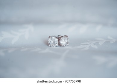 Round Diamond Earring Studs