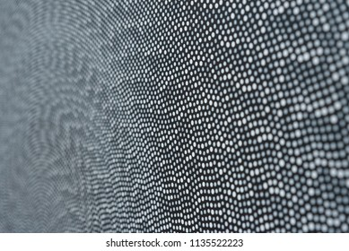 Round dotted texture