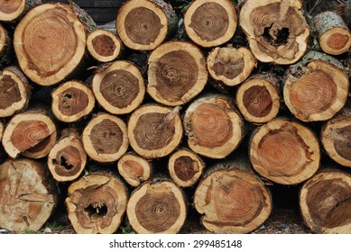 Round Logs stack