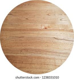 round mende wooden veneer board