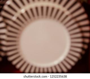 Round shape blurry design unique photograph