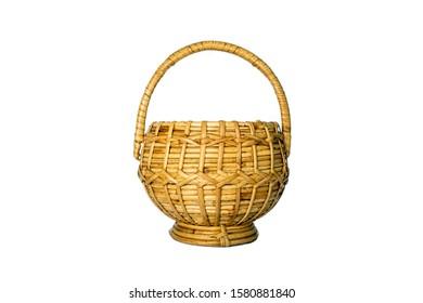Round Shape Craft Cane Box