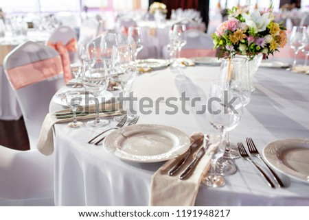 round tables for wedding reception