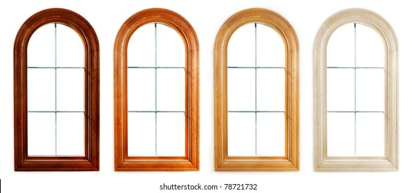 Arch window images stock photos vectors shutterstock for Round top windows