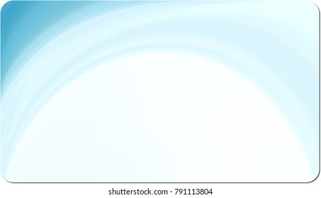 Rounded corner business card background for design