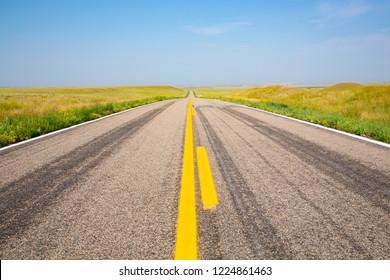 Route 29 in Nebraska, USA