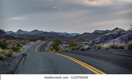 Route 66 at dusk